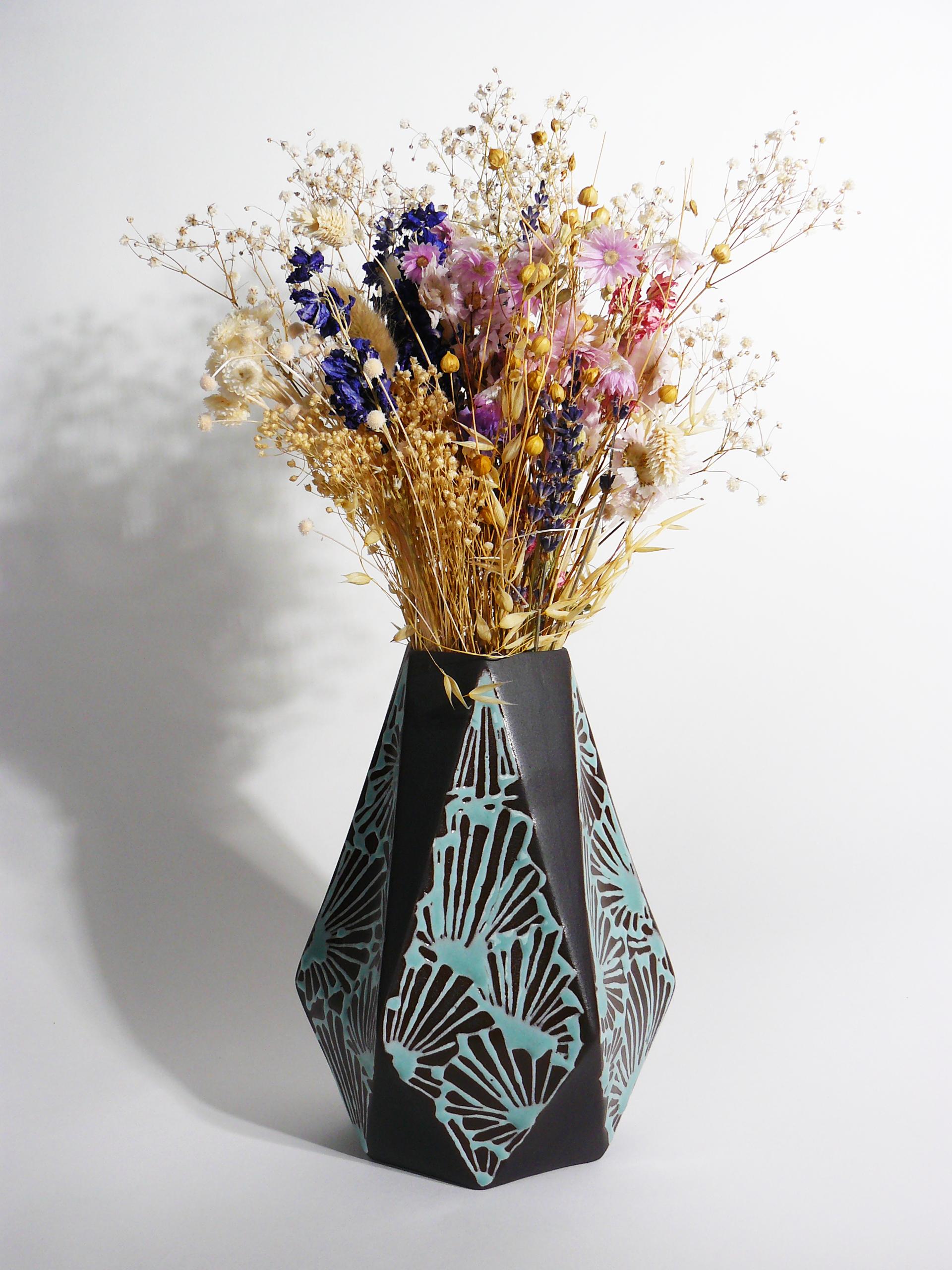 vase diamant roanne atelier emmane