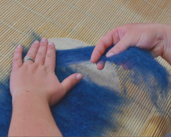 feutrage de la laine roanne